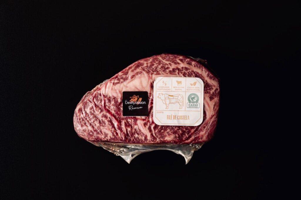Os cortes dianteiros e traseiros dos animais da Beef Passion são elaborados com o mesmo nível de qualidade.