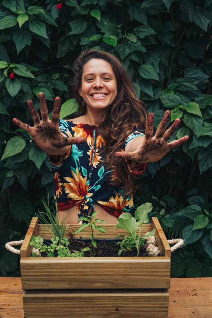 Por meio de hortas caseiras, você pode se alimentar melhor e, consequentemente, ter uma melhor qualidade de vida.